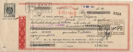 LETRA DE CAMBIO  AÑO 1964 - Letras De Cambio