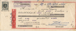 LETRA DE CAMBIO  AÑO 1963 - Letras De Cambio