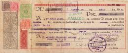LETRA DE CAMBIO  AÑO 1953 - Letras De Cambio