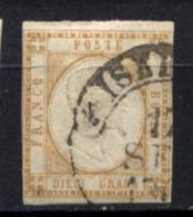 Province Napoletane 1861 10 G. Sass.11 O/Us VF/F - Neufs