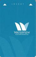 Waterview Casino & Hotel - Vicksburg, MS - Hotel Room Key Card