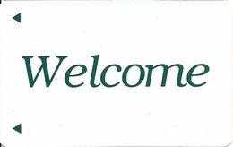 American Hotel Generic Welcome Hotel Room Key Card
