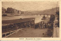 Namur - Debarquement Des Voyageurs - Unused - Belgium