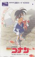 Carte Prépayée Japon-  Manga - Detective CONAN ** ONE PUNCH **  Japan ANIME Prepaid Tosho Card - BD Comics - Holmes - Kino