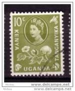 Kenya-Uganda-Tanganyika, Girafe, Lion, Coton, Textile, Reine Élizabeth II, Queen Elizabeth II, Cotton - Giraffe