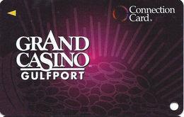 Grand Casino Gulfport  MS - Slot Card -CPI 2013316 Over Mag Stripe (BLANK) - Casino Cards