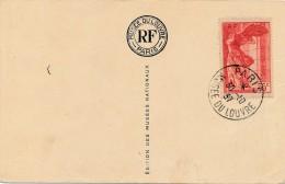 G22 - Timbre Paris Musée Du Louvre - Année 1937 - L'Infante Par Velasquez - Briefmarken (Abbildungen)