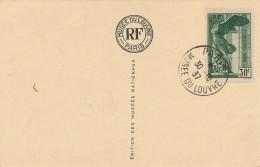 G22 - Timbre Paris Musée Du Louvre - Année 1937 - La Vierge Et L'Enfant Par Baldovinetti - Briefmarken (Abbildungen)