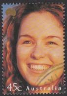 AUSTRALIA - USED 2000 45c Faces Of Australia - Rachel Thomson - Oblitérés
