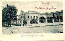 ARGENTINA - LA PLATA - DEPARTMENTE DE INGENIEROS 1903 Arg50 - Argentina