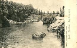ARGENTINA - TANDIL - ALREDEDORES - PASO DE UN ARROYO 1908  Arg58 - Argentina