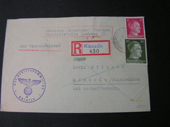 DR Russland Besetzung  R- Kasatin Ukraine Kosjatyn Cv. Mömbris 1942 - Occupation 1938-45