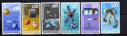 Serie Nº 1110/5 Yugoslavia - Astrología
