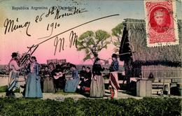 ARGENTINA - EL GATE BAILE (GATE DANCE) 1910 Arg74 - Argentina