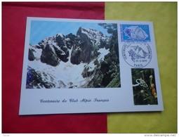 FRANCE (1974) Gentiane Et Glacier , Club Alpin Français - Unclassified