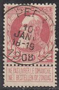 BELGIUM     SCOTT NO. 66     USED      YEAR  1893 - 1893-1900 Thin Beard
