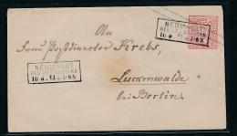 Norddeutsche Post- Ganzsache- Neumarkt-Breslau  (g7147  ) Siehe Bild - Norddeutscher Postbezirk