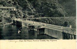 ARGENTINA - CORDOBA - DIQUE SAN ROQUE 1914 Arg90 - Argentina