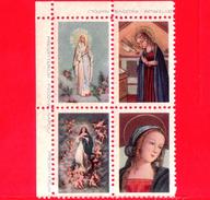ITALIA - Etichette Di Fantasia - Chiudilettera - Vergine Maria - Presbyterium Padova - Napoli - Etichette Di Fantasia