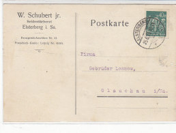 Firmen Karte Aus ELSTERBERG 25.6.23 - Briefe U. Dokumente