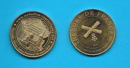 Médaille Touristique  Marseille 26ème Salon National 28 Mars 2010  Trésors De Fance  2010 /Arthus Bertrand /33NAT - 2010