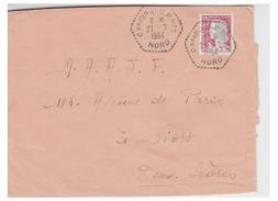 FRANCE--CORRESPONDANTS POSTAUX -- DEPARTEMENT DU NORD --CAMBRAI --CPN°1--1964- - Marcofilie (Brieven)