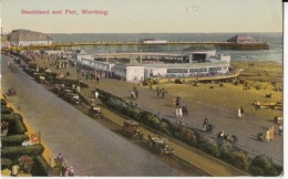 Angleterre  -Sussey - Worthing - Bandstand And Pier  : Achat Immédiat - Worthing
