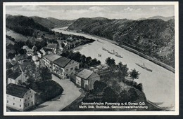 9535 - Alte Ansichtskarte - Parawang - Gaststätte Gasthaus - Gel 1940 - Prokopp - Schärding