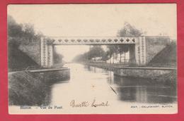 Blaton - Vue Du Pont ...Canal Blaton-Ath - 1903( Voir Verso ) - Bernissart