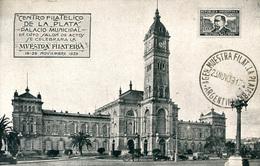 ARGENTINA - LA PLATA -  CENTRO FILATELICO DE LA PLATA  1939  Arg111 - Argentina