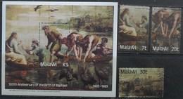 Malawi 1983 500th Birthday Raphael Painter MNH