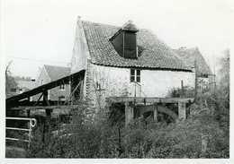 """PETIT-HALLET - Hannut (Liège) - Moulin à Eau / Molen; """"Moulin Rassart""""; Photo Véritable 9x13 Cm (vers 1980) - Lieux"""