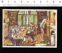 Image Atelier D'orfèvres Or Orfèvrerie Métier Orfèvre Bijouterie Joaillerie Outil Enclume  Histoire De France IM 14/41 - Chromos