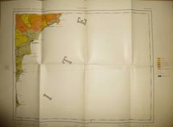 Mapa Geologico De Espana Ca. 1910 - Segunda Edicion - Alicante - Hoja N°46 - 40cm X 54cm - Maßstab 1:400'000 - Formado Y - Topographische Karten