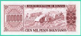 100 000 Pesos Bolivianos - Bolivie - 1994 - N° 61574748B - Neuf - - Bolivie