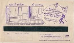 FACTURE  électricité Avec Pub Illustrée -  Energie électrique Du Sud Ouest  - 1937 - Courant De Nuit à Prix Réduit  ... - 1900 – 1949