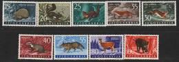 Yugoslavia 1960 MNH Fauna Set - 1992-2003 République Fédérale De Yougoslavie