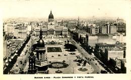 ARGENTINA - BUENOS AIRES - PLAZA CONGRESO Y VISTA PARCIAL RP Arg121 - Argentina