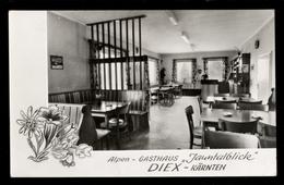 [024] Diex, Gasthaus Jauntalblick, ~1960, Bez. Völkermarkt, Verlag Korenjak (Karlsruhe) - Altri