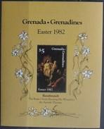 Grenadines-Grenade 1982 Block N° 66 - Pâques. Peinture De Rembrandt