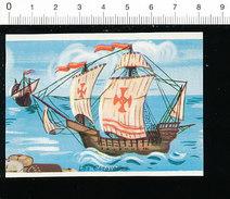Image Les Caravelles Bateau Caravelle De Christophe Colomb / Histoire IM 14/42 - Chromos