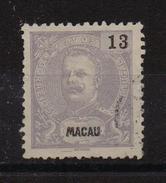 Macau 1903, Minr 135, Used. Cv 12 Euro - Macao