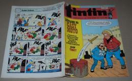 Tintin Nouveau FR 449 17/04/1984 Couv Chick Bill De Tibet Voir Annonce - Tintin
