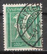 Reich N° 164 Oblitéré (fil B Voir Scan) - Used Stamps