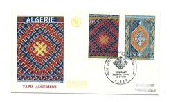 FDC Algérie - Tapis Algériens - Année 1968 - Algeria (1962-...)