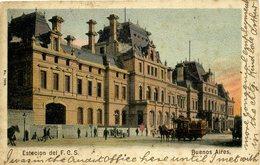 ARGENTINA - BUENOS AIRES - ESTECION DEL FCS 1906  Arg155 - Argentina