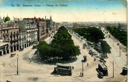 ARGENTINA - BUENOS AIRES - PASEO DE COLON  Arg157 - Argentina
