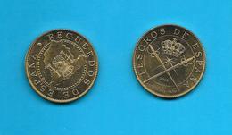 Médaille Recuerdos De España   Trésors D'Espagne Tesoros De España 2012  / Arthus Bertrand / 33NAT - Arthus Bertrand