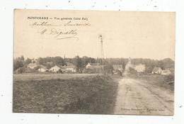 Cp , 77 , MONTCEAUX , Vue Générale ,côté Est , Vierge - Altri Comuni