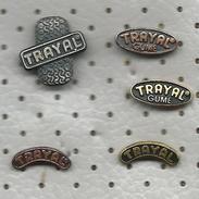 PNEUMATIC TRAYAL Krusevac Serbia Tyre Neumatico Gomma Gum Pneu Pneus Pneumat Lot 5 Pins - Badges